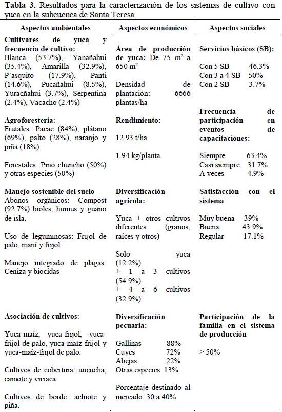 Sustentabilidad de los sistemas de cultivo con yuca for Que es la asociacion de cultivos