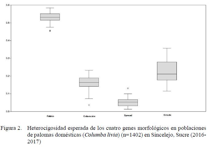 Variabilidad genética de las poblaciones de palomas domésticas ...